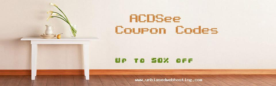 ACDSee coupons