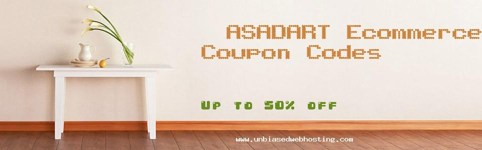 ASADART Ecommerce Specialty Shops coupons