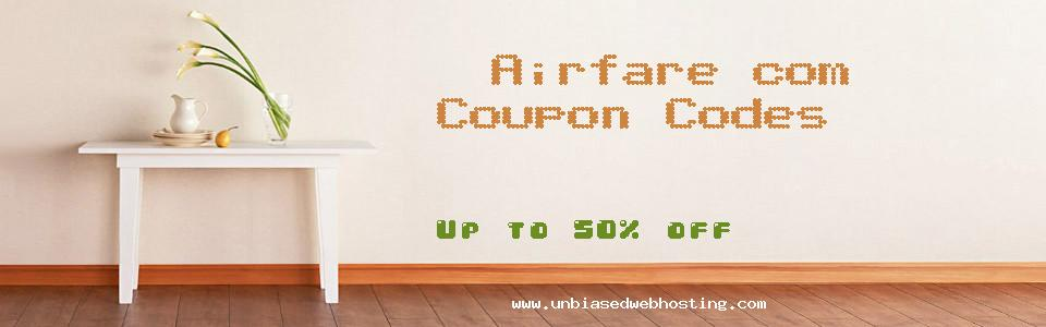 Airfare.com coupons