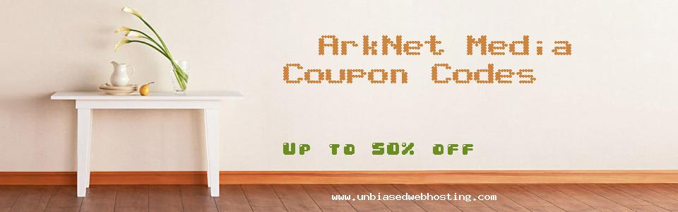 ArkNet Media coupons