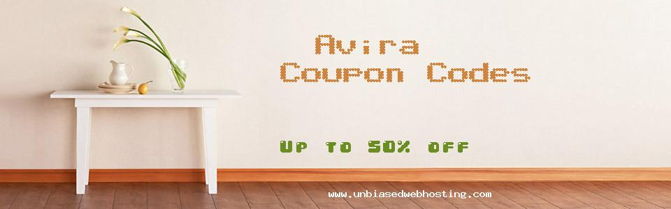 Avira - US coupons
