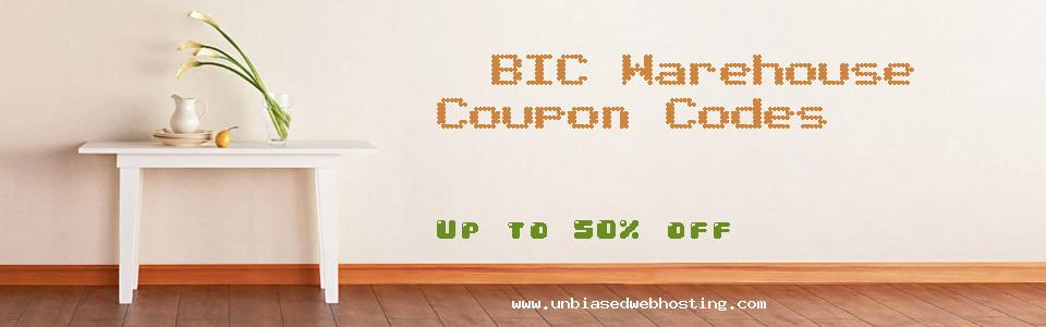 BIC Warehouse coupons