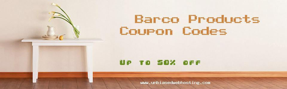 Barco Products coupons