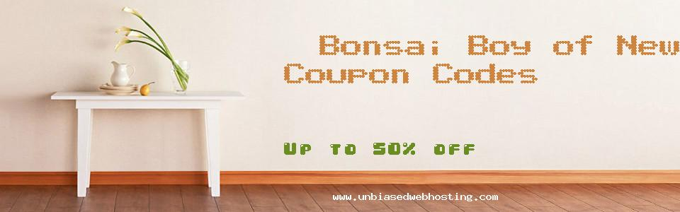 Bonsai Boy of New York coupons