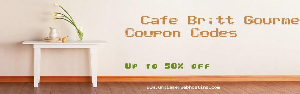 Cafe Britt Gourmet Coffee coupons