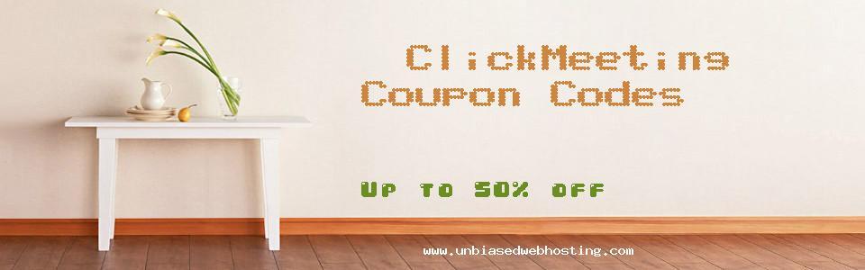 ClickMeeting coupons