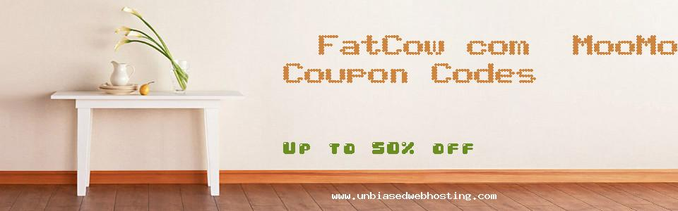 FatCow.com: MooMoney coupons