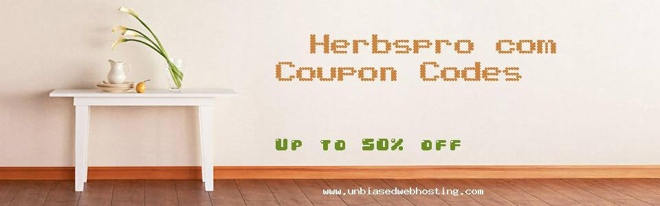 Herbspro.com coupons