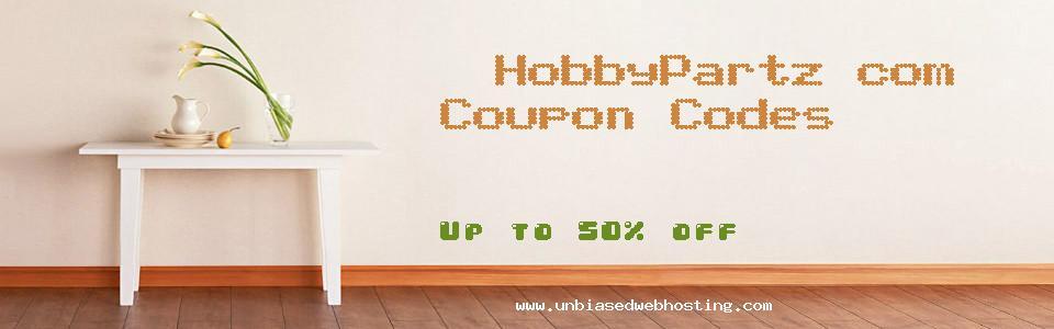 HobbyPartz.com coupons