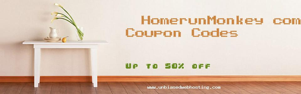 HomerunMonkey.com coupons