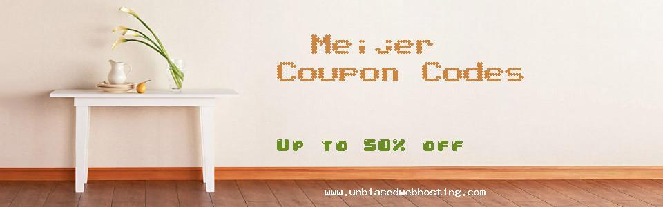Meijer coupons