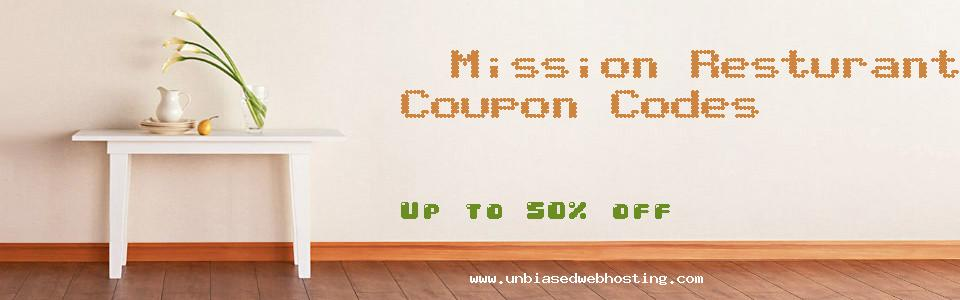 Mission Resturant Supply coupons
