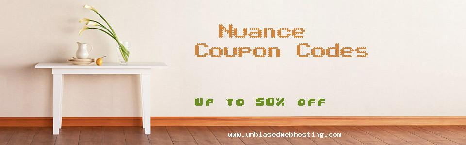 Nuance coupons