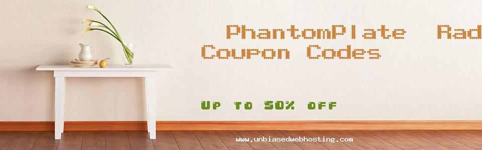 PhantomPlate. Radar GPS & Red Light Detectors coupons