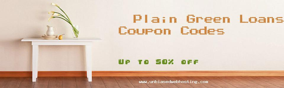 Plain Green Loans coupons