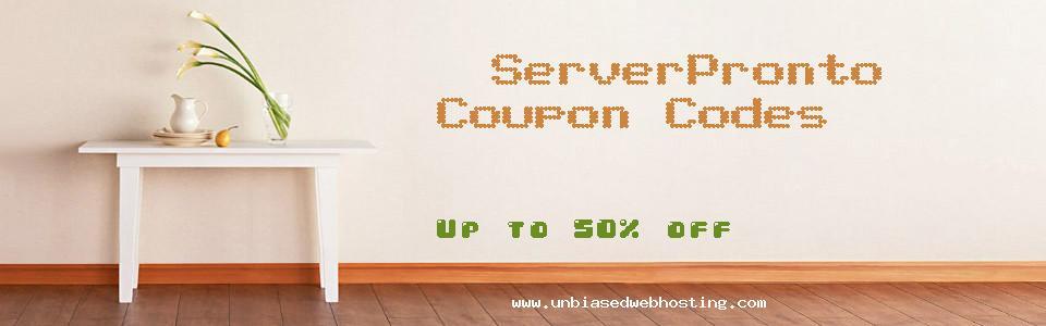 ServerPronto coupons