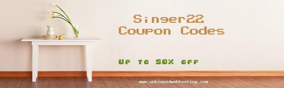 Singer22 coupons
