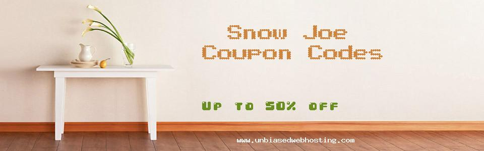 Snow Joe coupons