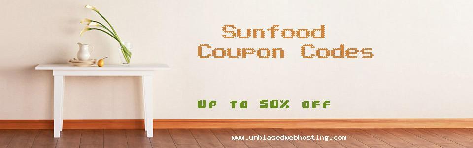Sunfood coupons