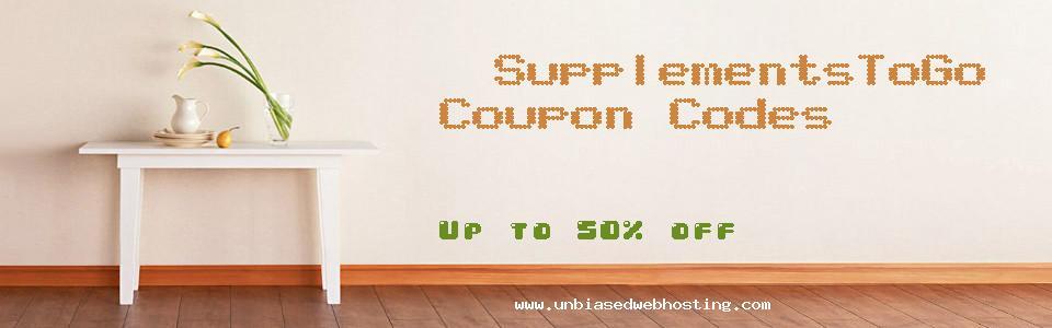 SupplementsToGo coupons