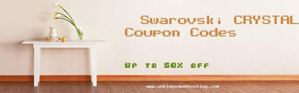 Swarovski CRYSTALLIZED coupons