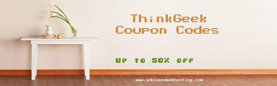 ThinkGeek coupons