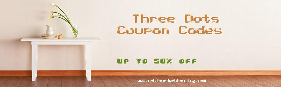 Three Dots coupons