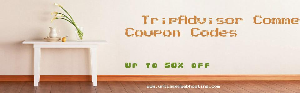 TripAdvisor Commerce Campaign coupons