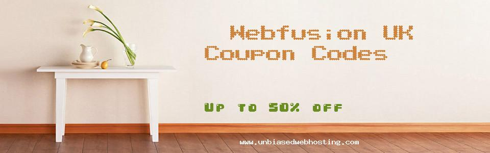 Webfusion UK coupons