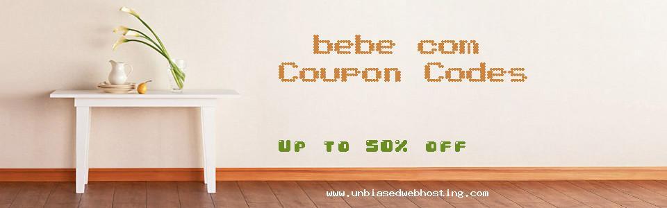 bebe.com coupons
